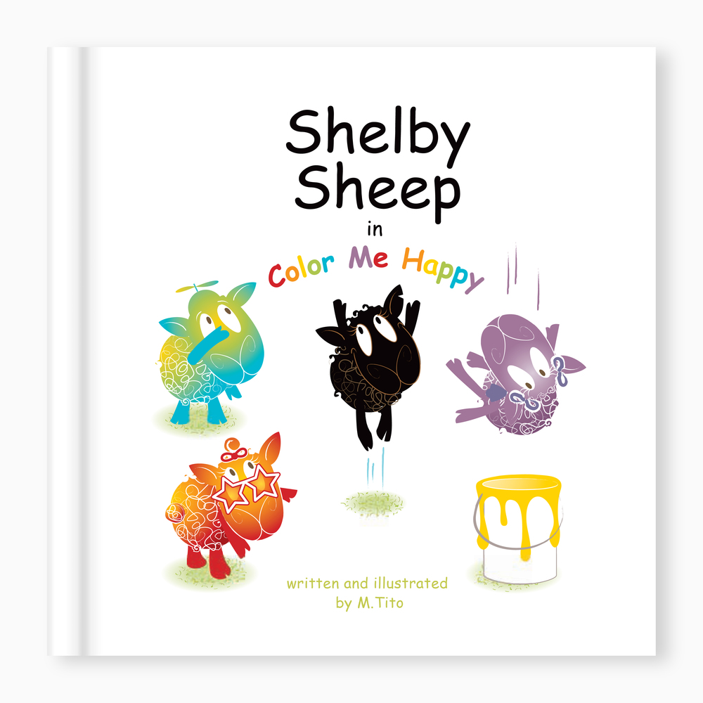 Shelby Sheep  in Color Me Happy . by M. Tito   iBook format . PDF