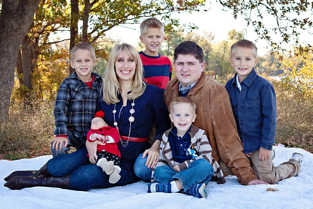 Irving Family - 2012