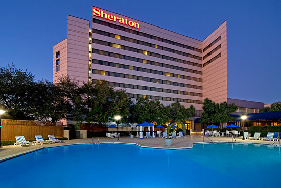 Sheraton North Houston at George Bush Intercontinental 15700 John F. Kennedy Boulevard. Houston, TX 77032, United States Phone: (281) 442-5100