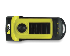 SP-1002: Waterproof Solar/ Dynamo LED Flashlight