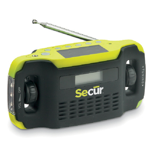 SP-2000: Digital Solar Radio & LED Flashlight