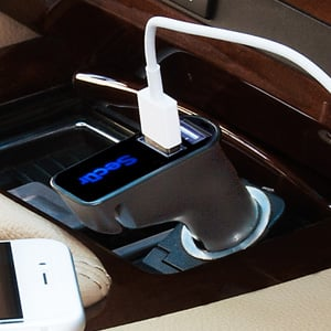 Cigarette Lighter USB Port