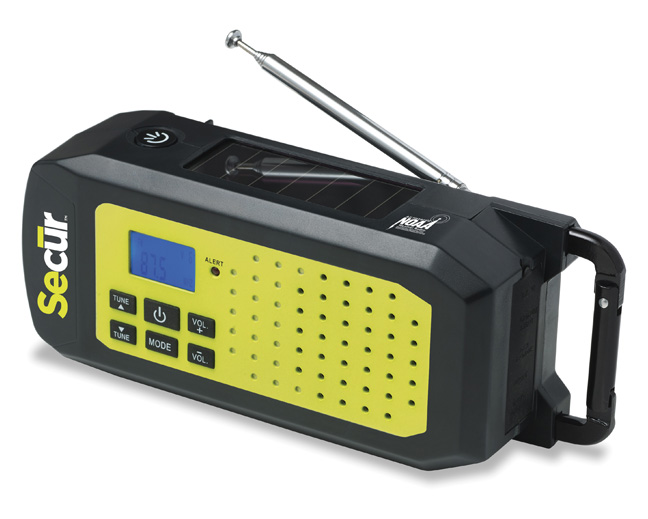 SP-2003: Emergency NOAA Weather Band Radio & LED Flashlight