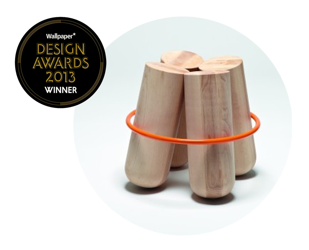 THE AWARD WINING BOLT STOOL