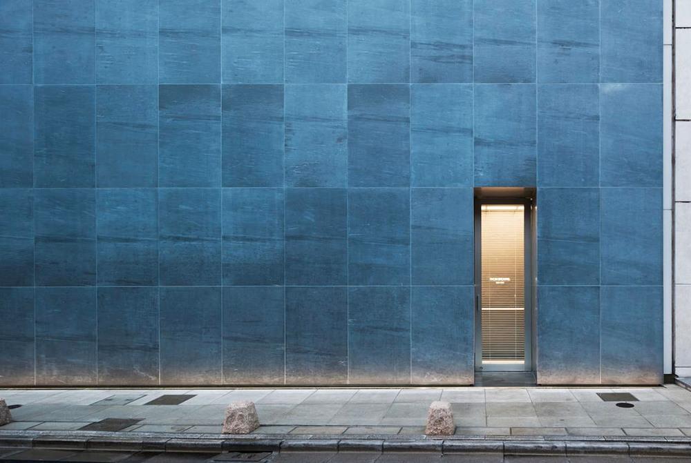 Tokyo's flagship boutique facade