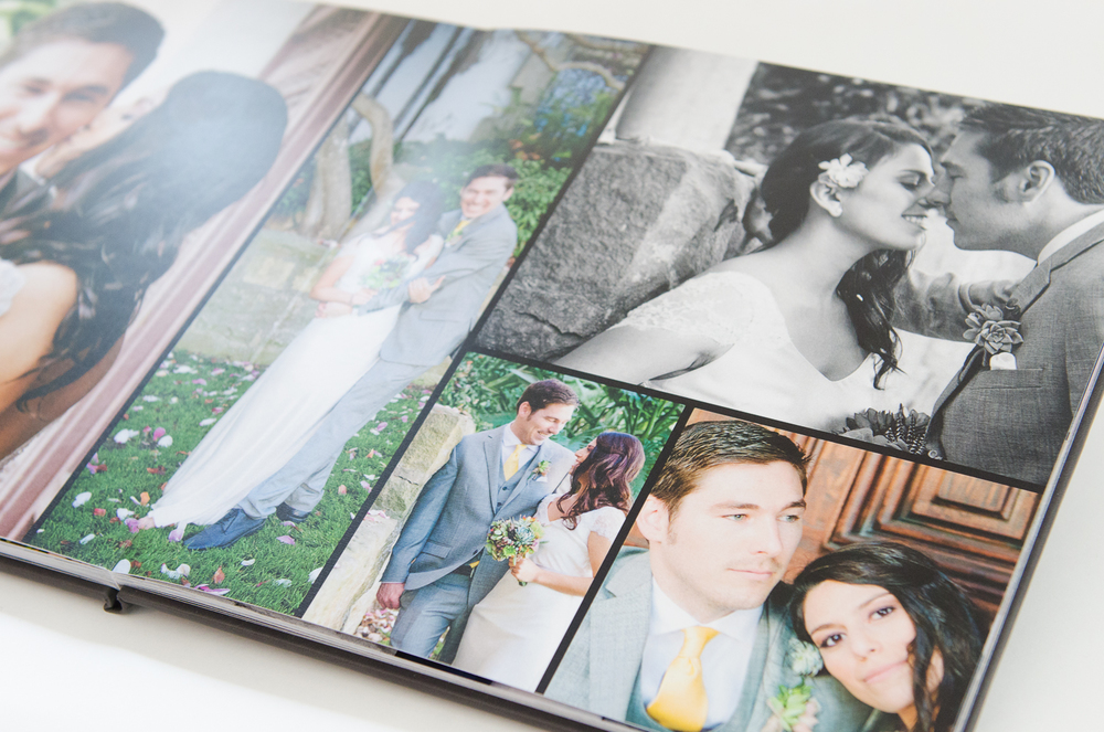 Often, a wedding or event can leave you with more photos than you can justify framing and displaying. Having a book printed is a great way to show off all your great photographs.