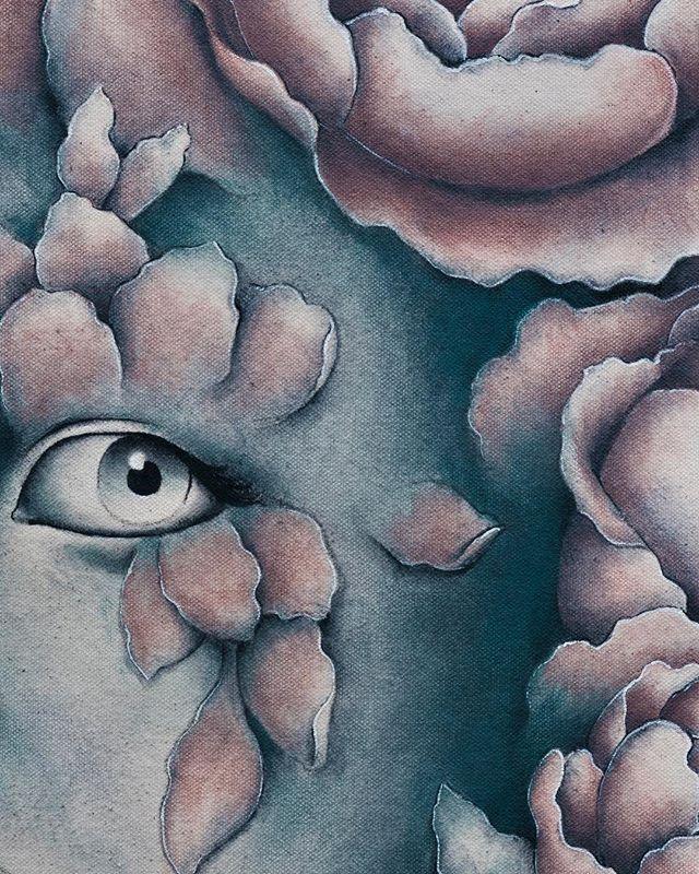 An excerpt from a new work - Uma parte de um novo trabalho . . . #painting #brazilianart #acrylics #acrylicpaint #art #artwork #artistic #newartwork #brazilianartist #contemporaryart #instaart #newcontemporary #popsurrealism #lowbrow #liquitex