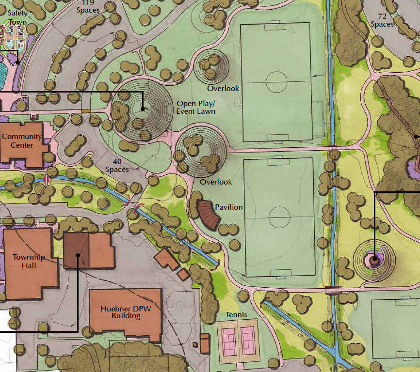 Recreation Campus Master Site Plan