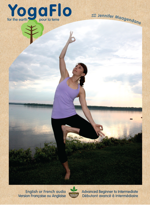 Yoga Flo DVD's with Jennifer Maagendans