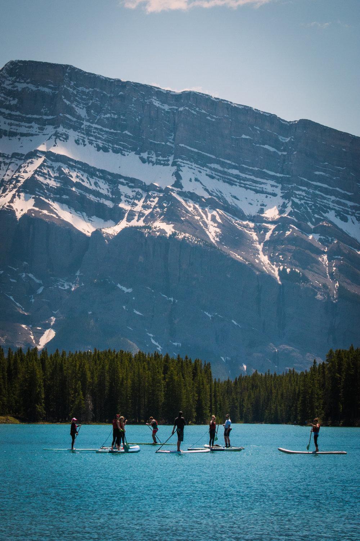 Banff mountains