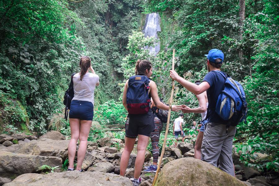 Waterfall hike