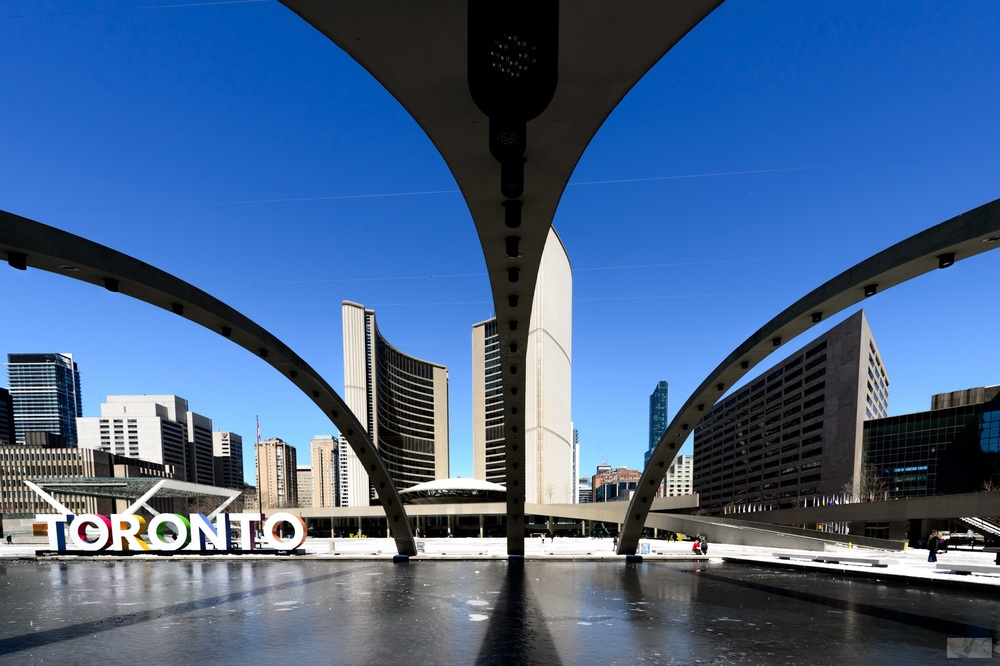 Nathan Phillips Square Ice Rink
