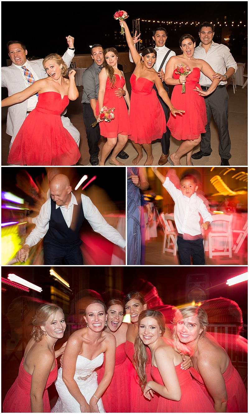 Bridal party getting down andMr. Gary Quay has moves..