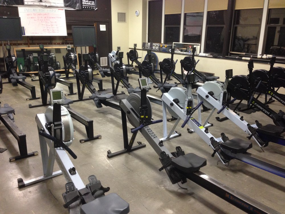 Erg Room at St. Ann's in Somerville, MA