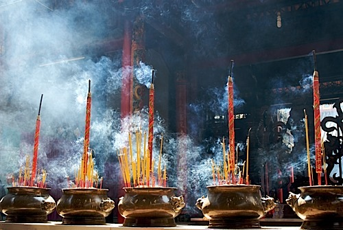 incense prayer