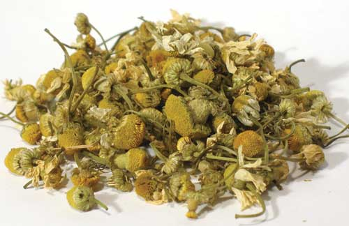 Dried chamomile.  Great for tea or incense!