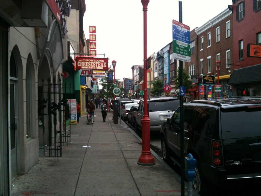 Philadelphia's famous South Street