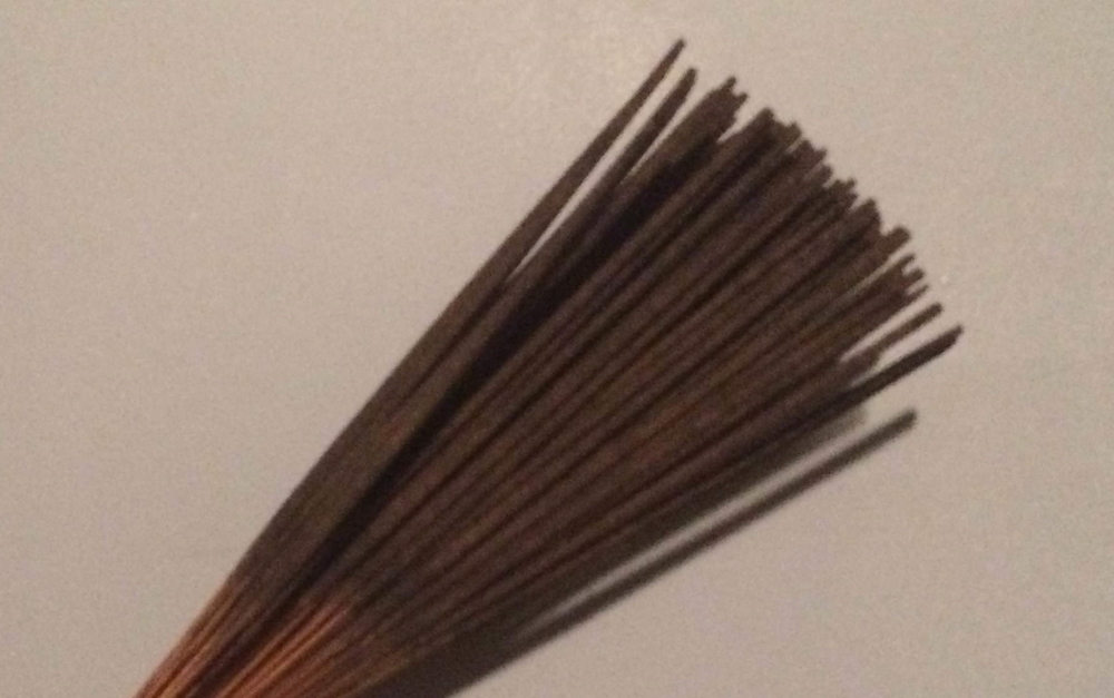 Incense sticks from street fair in New York City