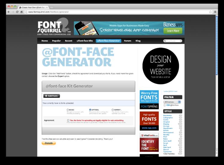 http://www.fontsquirrel.com/tools/webfont-generator