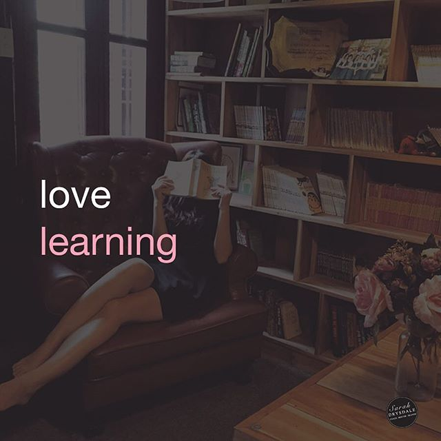 As a business owner we need to love learning! We are on the steepest learning curve - trying to get our heads around everything to do with the online world. Stay positive and enjoy the ride!