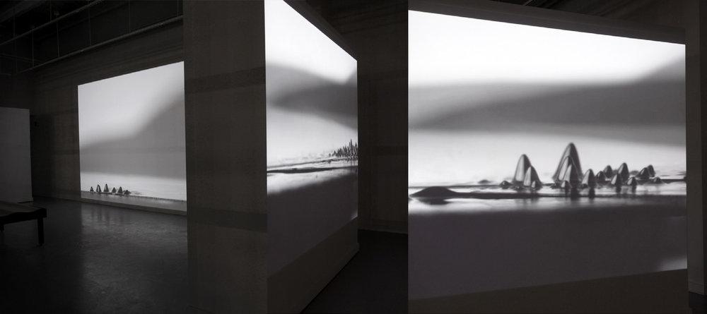 Installation, Permutations, VisArts Gibbs Street Gallery, 2015