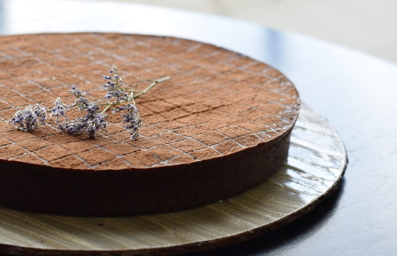 chocolate framboise truffle torte