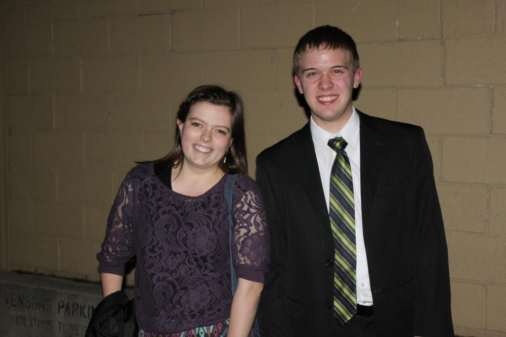 Amanda & Elder Jason Blanding