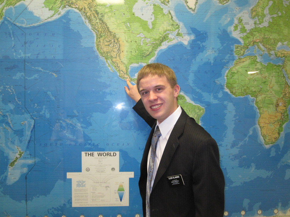 Elder Blanding where are you going? Mexico, Puebla North!