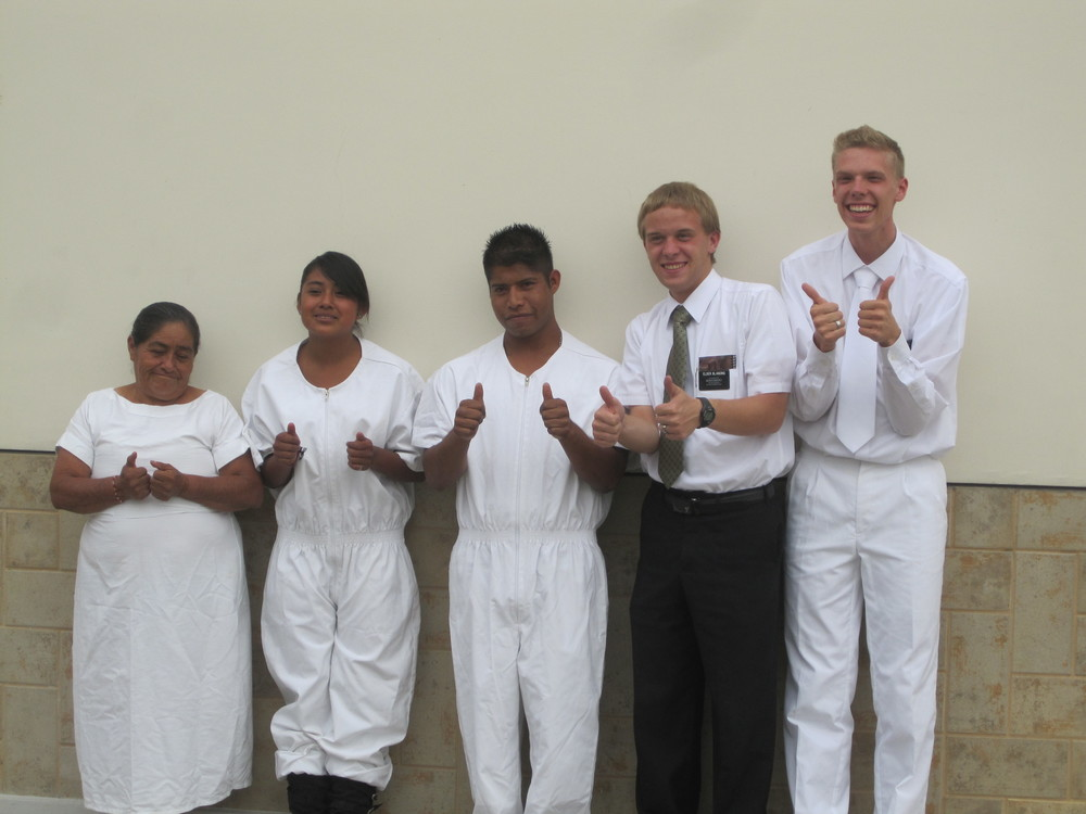 Elder Blanding second from Right