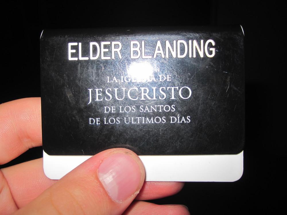 Elder Blanding!