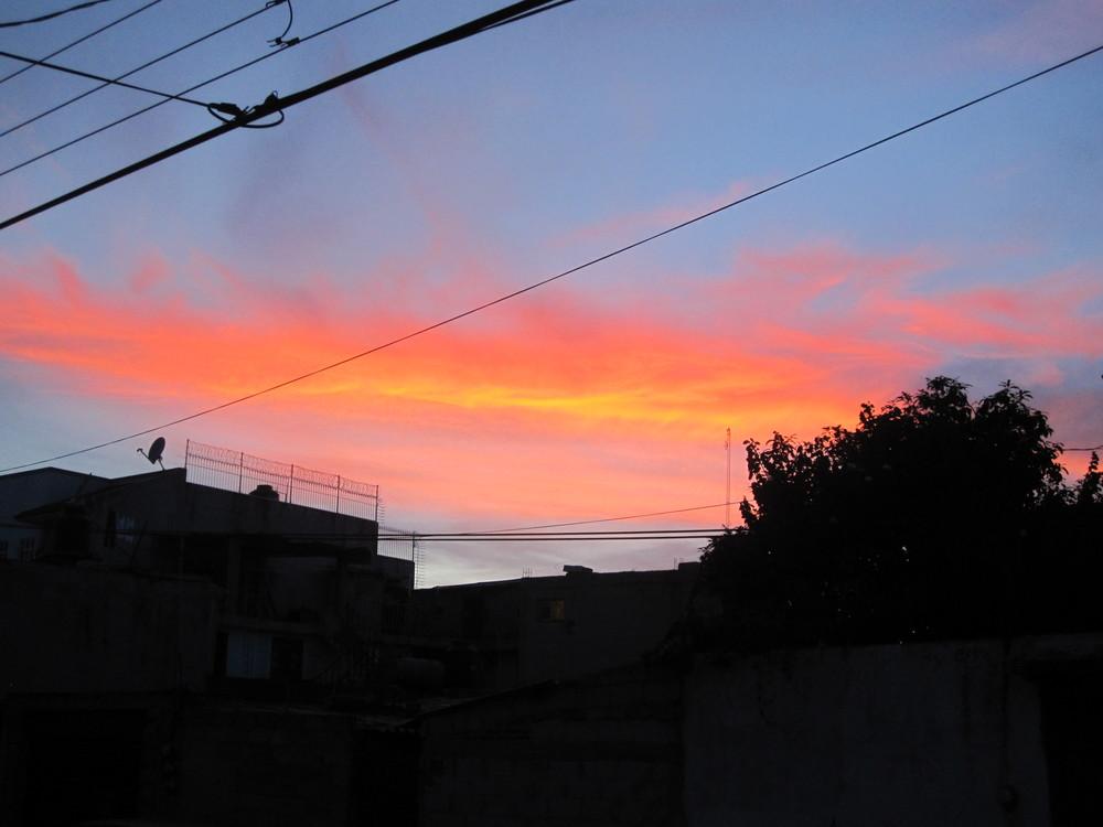 A Puebla Sunset! Beautiful!