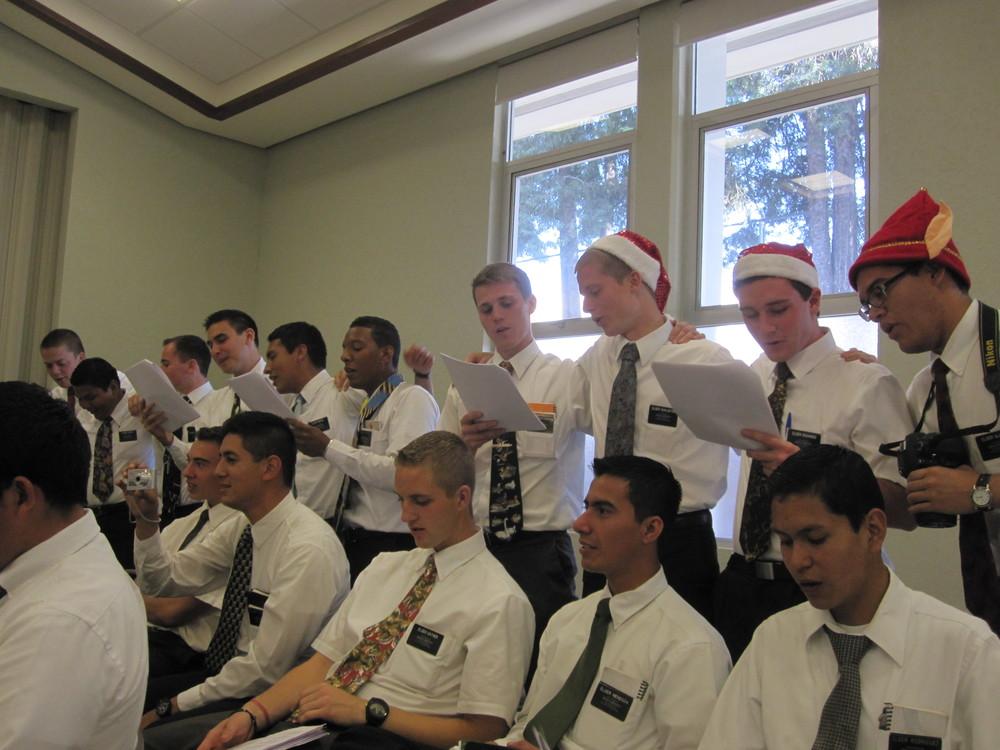 Elder Blanding is not in this photo