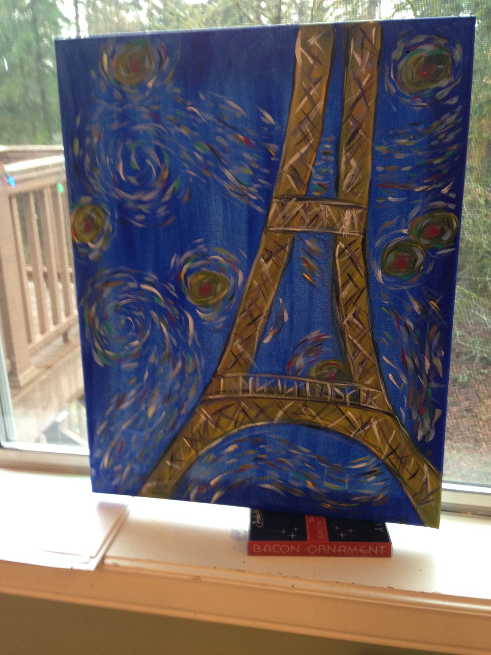 "By Doreen Blanding for my daughter, December 2013, ""Paris"""