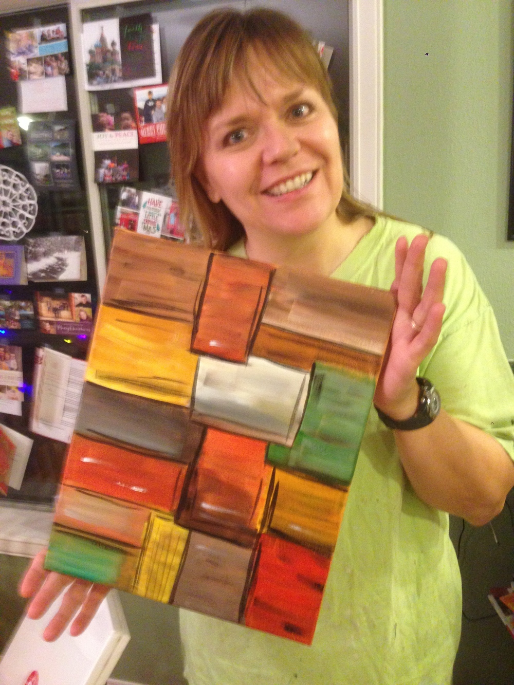 "After, By Doreen Blanding, December 2013 ""Blocks"""