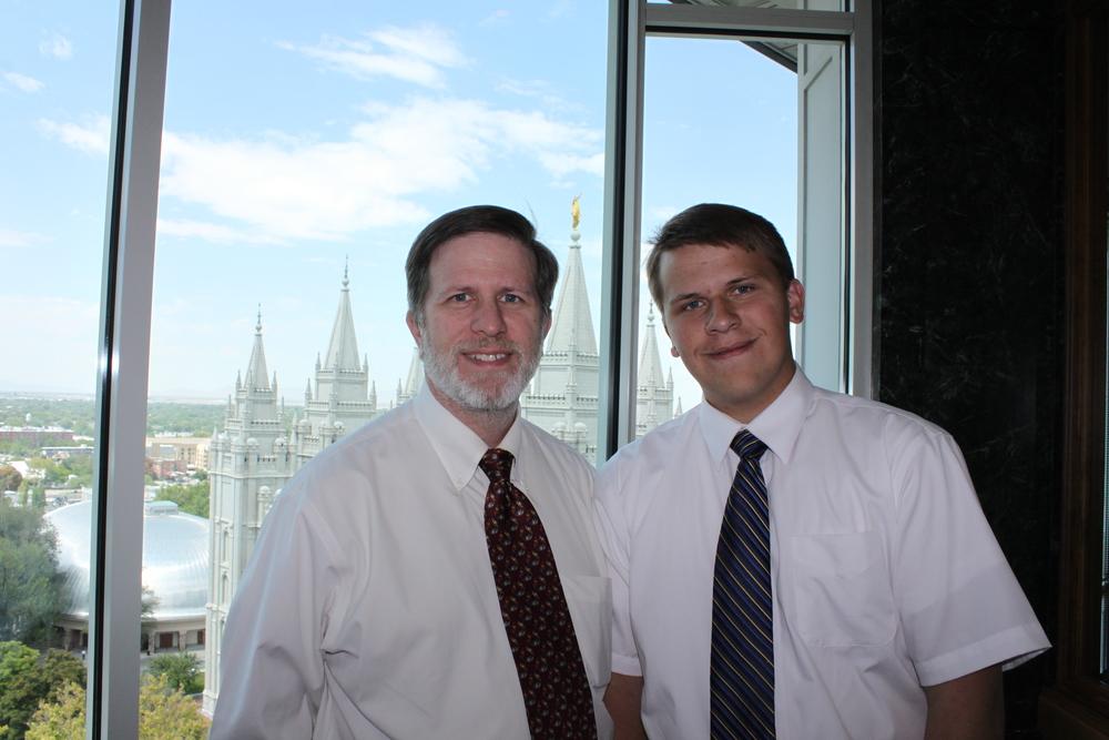 Steve & Elder Michael Blanding