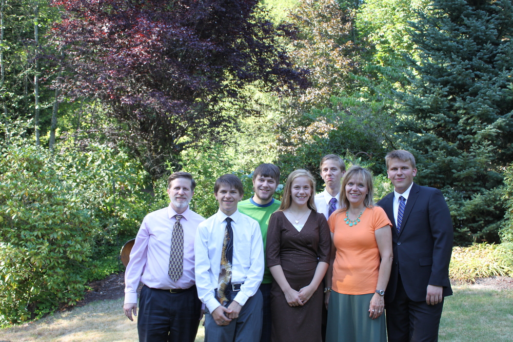 Last family photos (missing Elder Jason Blanding)
