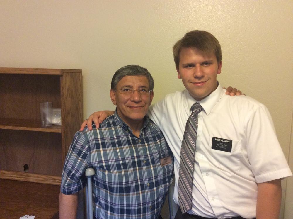 Elder Michael Blanding and his investigator M*
