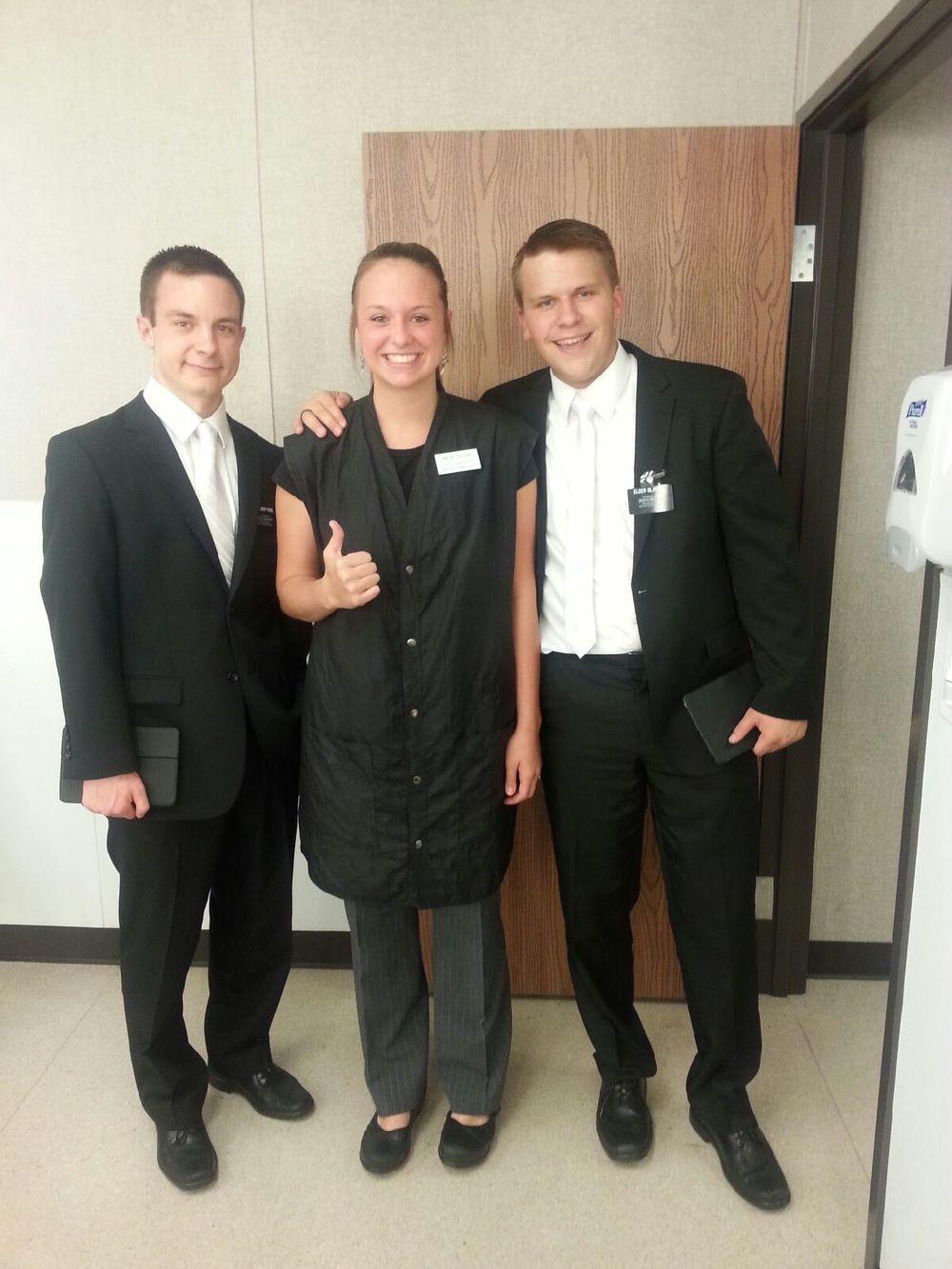 """Elder P, Katie Ostler and Elder Michael Blanding """"After"""""""