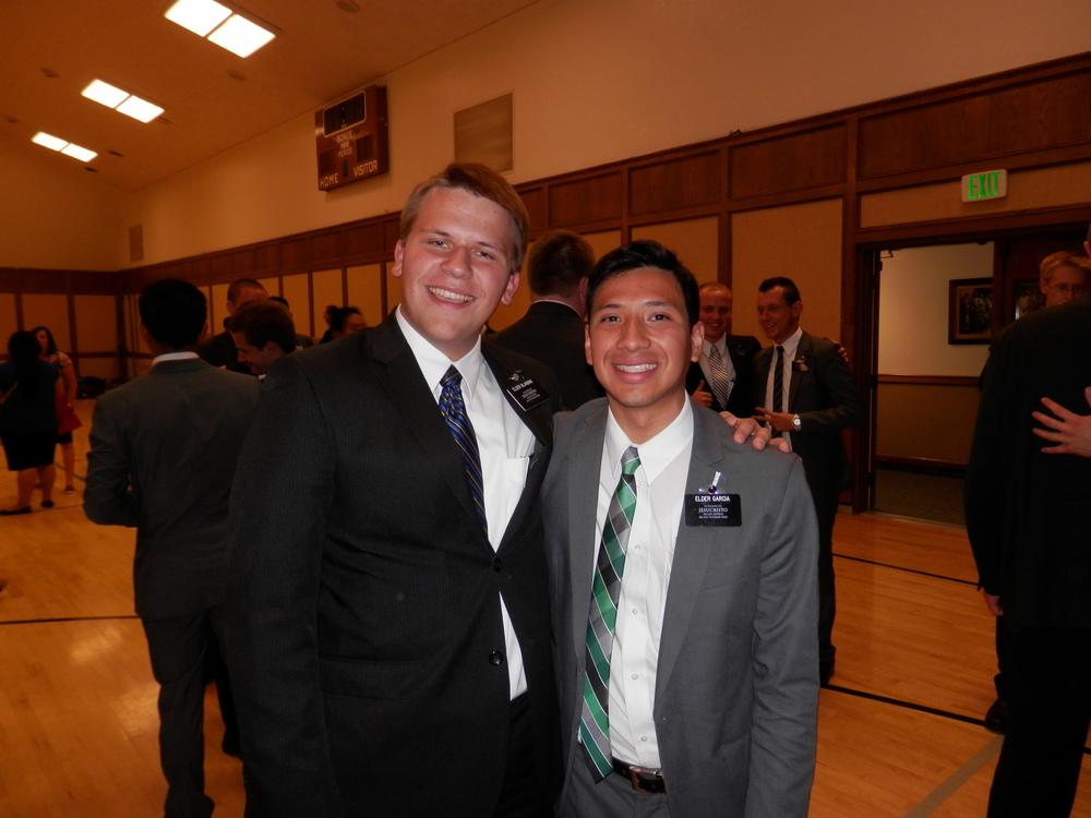 Elder Michael Blanding and Elder Garcia