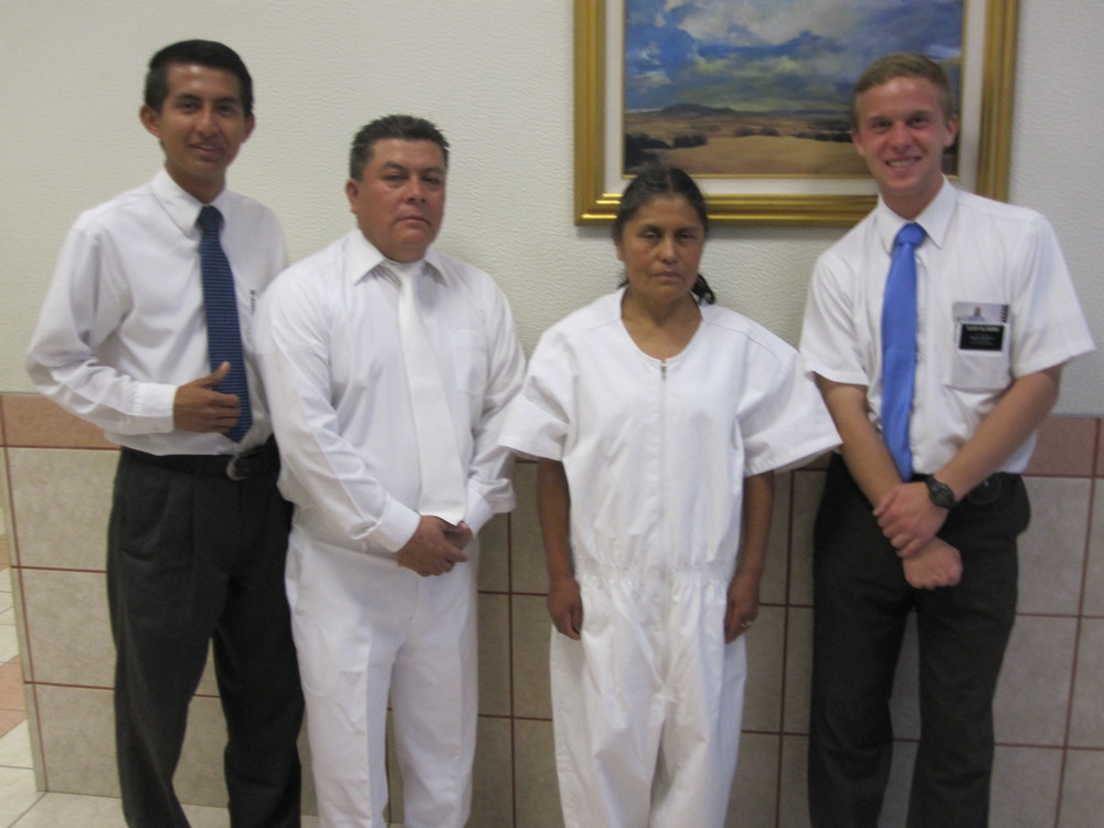 Elder Jason Blanding is on the right