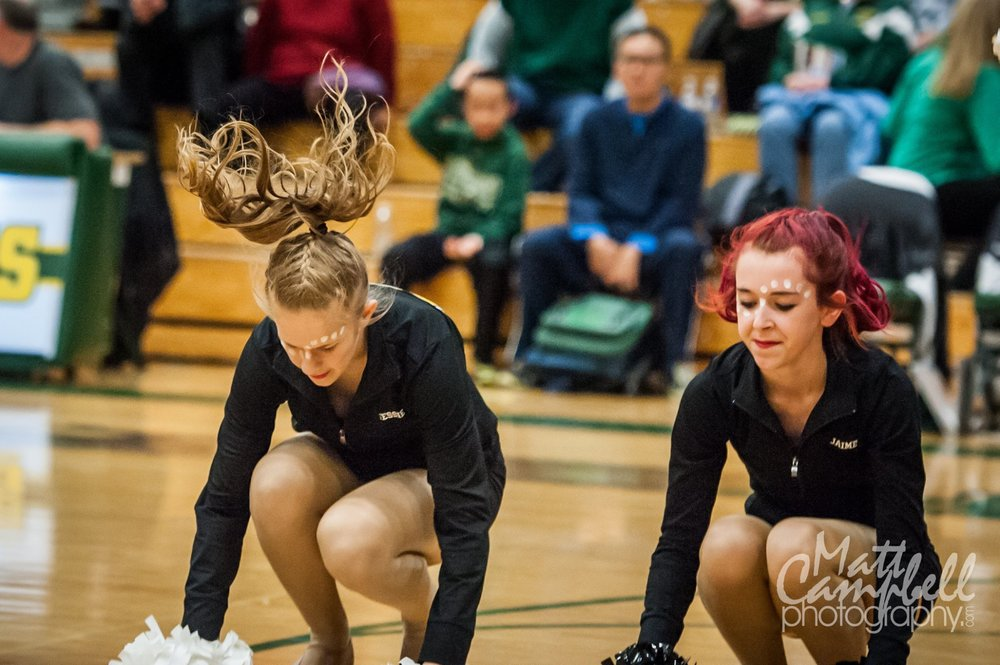 Our friend Matt Campbell took this photo and I thought Jessie's hair was so cool!