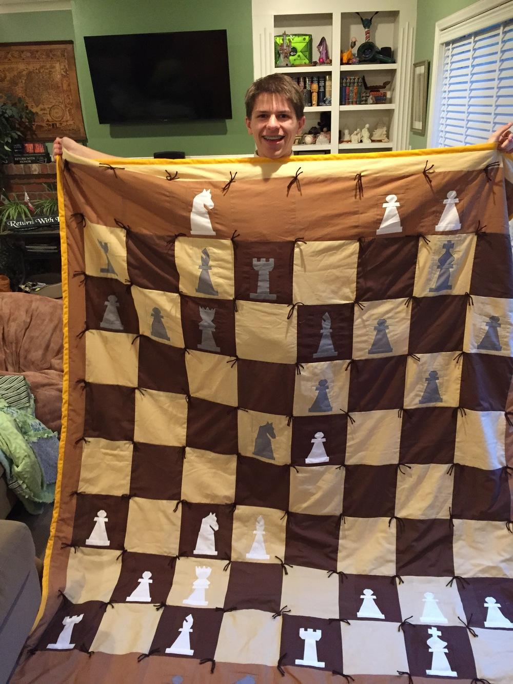 Matt's Senior Quilt!