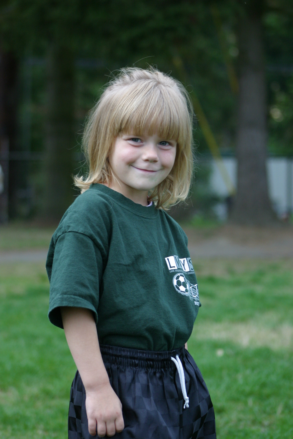 And I always had the cutiest soccer players, Jessie, 2005