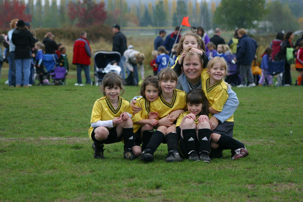 Soccer is about fun, Jessie, 2006