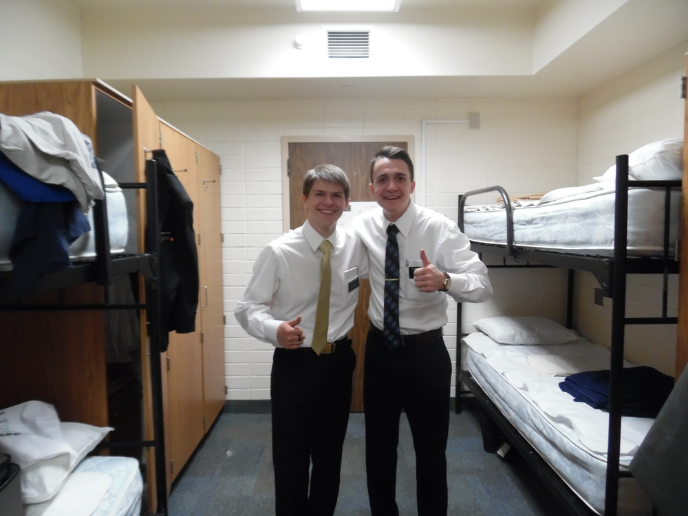 Elder Matthew Blanding and Elder Cahoon