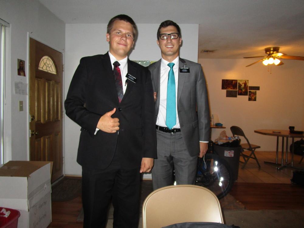 Elder Michael Blanding and Elder Weinheimer
