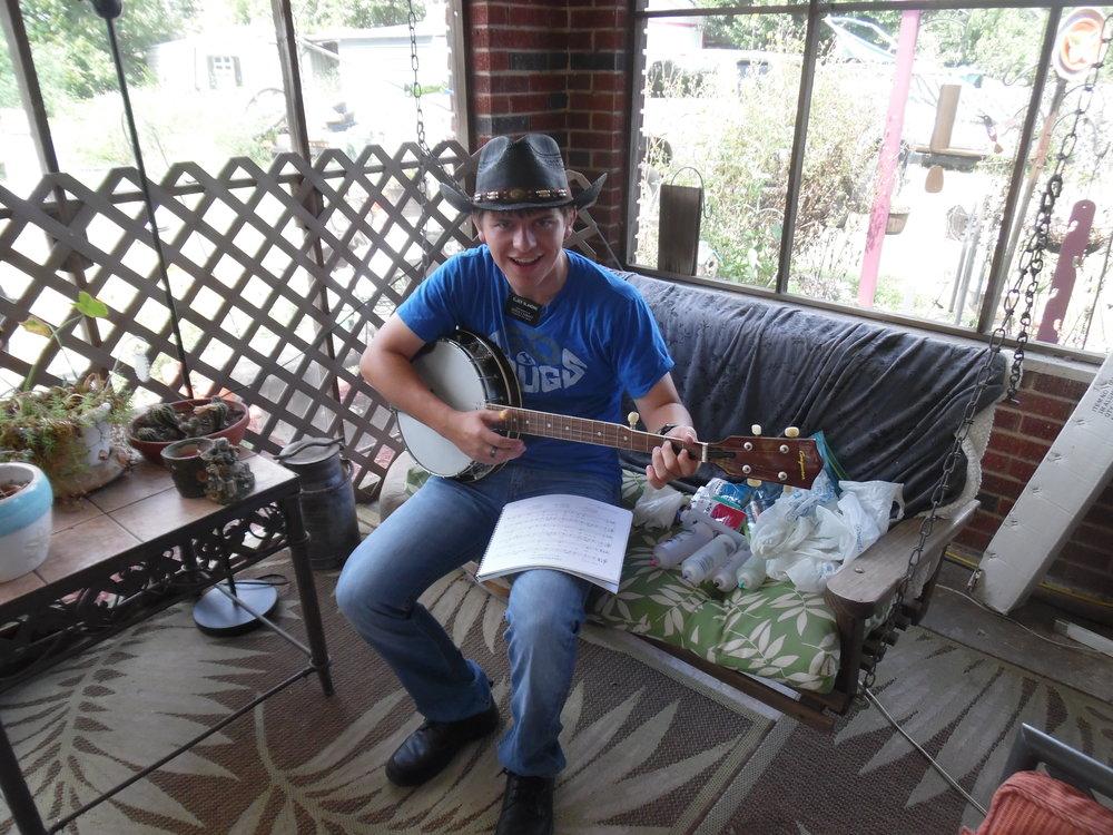 Matt, I mean Elder Blanding,in North August, SC, playing the banjo.