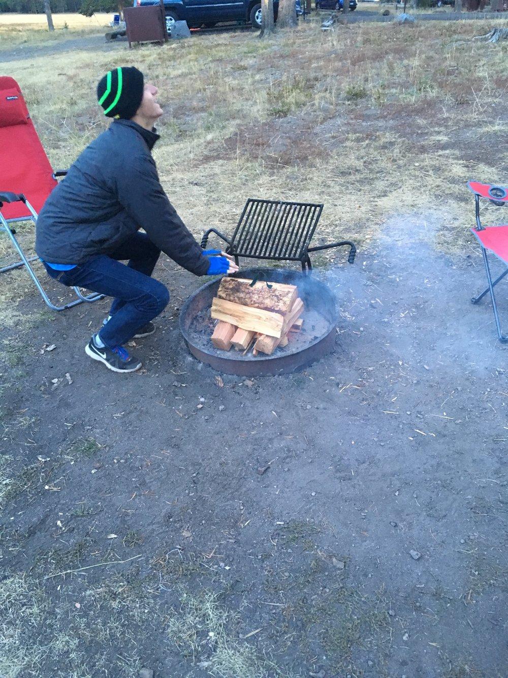 FIRE!! Chris