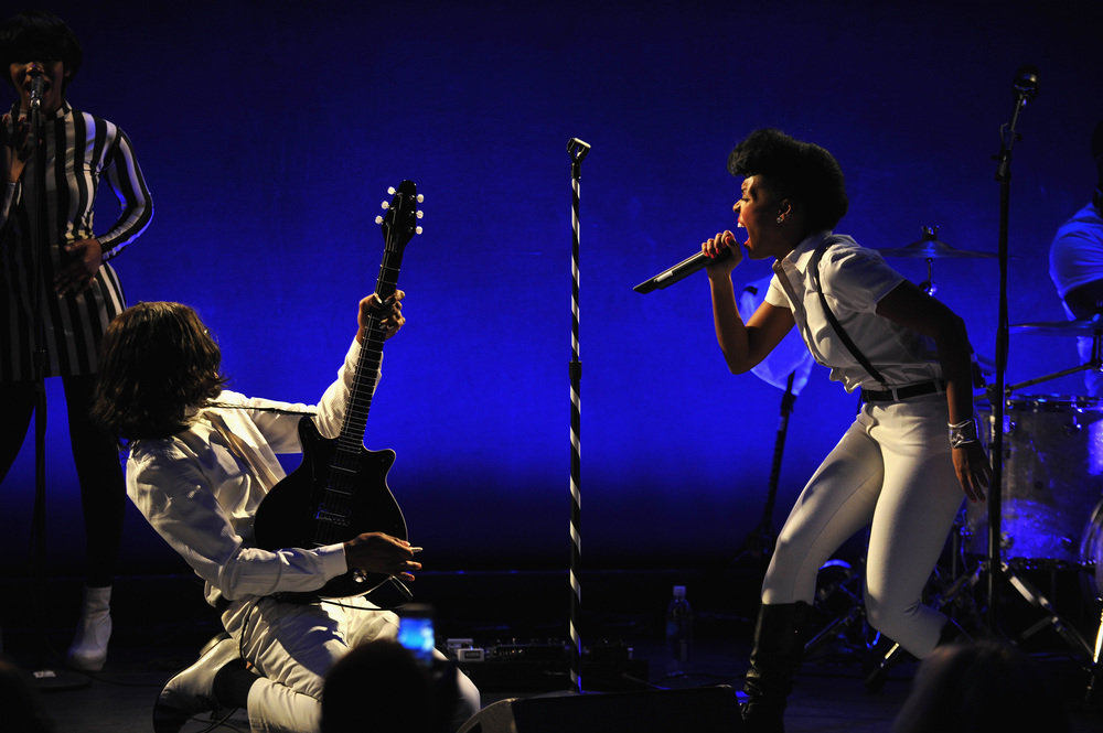 Janelle Monáe joined as well, performing an additional set, exclusively for guests.
