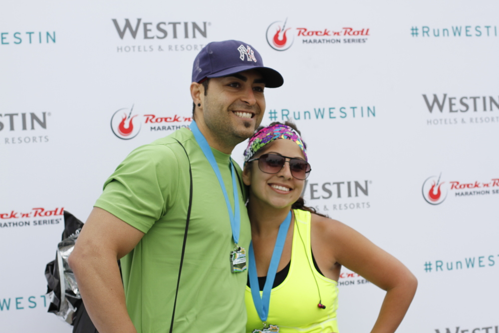Runners pushed their photos to their various social networks using the hashtag #RunWESTIN.